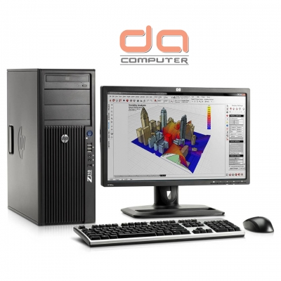 HP Z420 Workstation ( E5 - 1620 Intel Xeon Quad Core 3.6GHz | 16GB DDR3 | 240GB SSD | DVDRW | 2GB Quadro K620 )