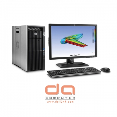 HP Z820 Workstation ( 2 x E5 - 2670 Intel Xeon 16 Cores 2.6GHz | 32GB RAM | 240GB SSD + 2TB | DVDRW | 4GB Quadro K2200 | Windows 10 64 bit )