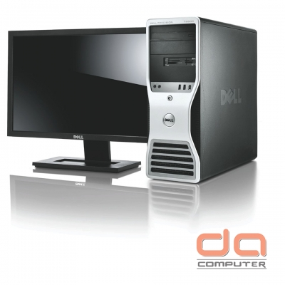 Dell Precision T5500 ( X5670 Intel Xeon Six Core 2.93GHz | 16GB RAM | 120GB SSD | DVDRW | 1GB Quadro 2000 | Windows 7 Pro 64bit )