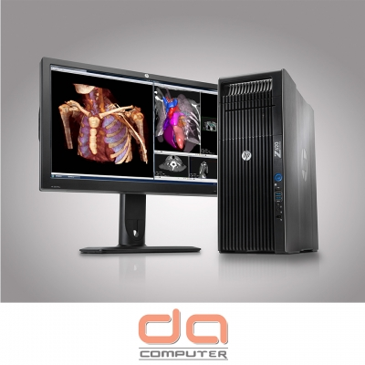 HP Z620 Workstation ( 2 x E5 - 2651 Intel Xeon 24 Cores 1.8GHz | 32GB RAM | 240GB SSD + 2TB | DVDRW | 3GB Quadro K4000 | Windows 7 Pro 64 bit )